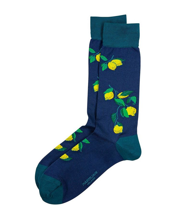 Lemon-Printed Socks image 0