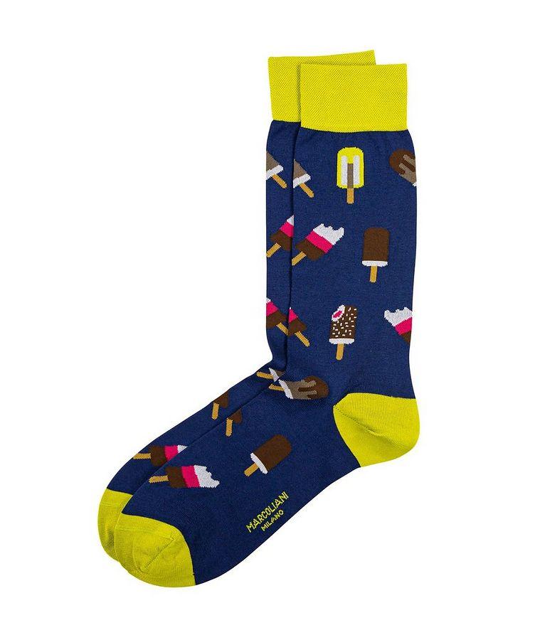 Popsicle-Printed Socks image 0
