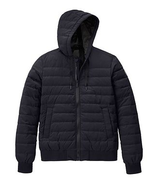 Canada Goose Manteau de duvet Sydney à capuchon, collection Black Label