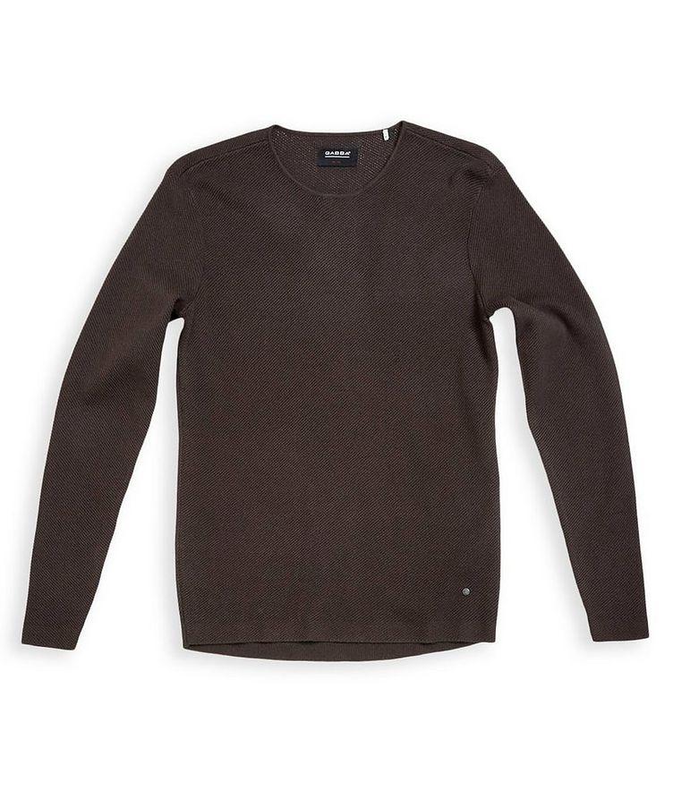 Newlyn Waffle-Knit Sweater image 0