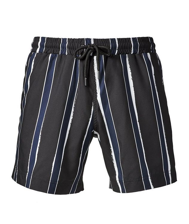 Printed Swim Trunks picture 1