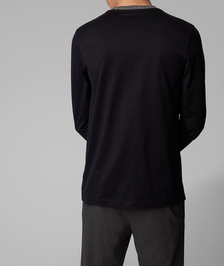 Long-Sleeve Cotton T-Shirt image 2