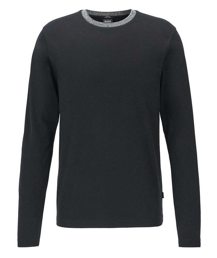 Long-Sleeve Cotton T-Shirt image 0