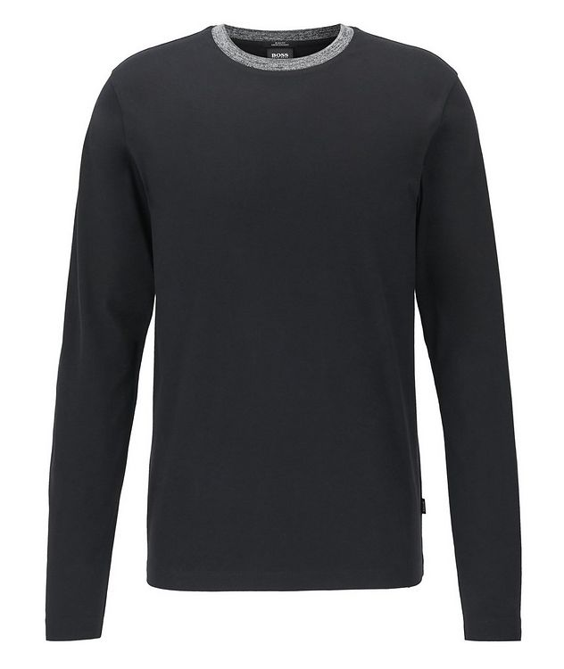 Long-Sleeve Cotton T-Shirt picture 1