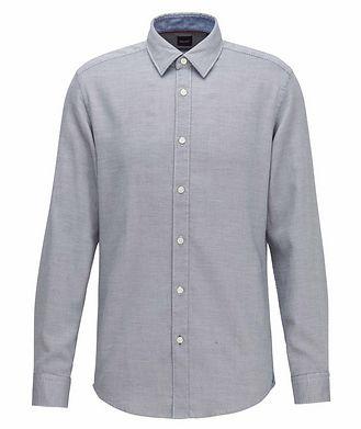 BOSS Printed Cotton Shirt