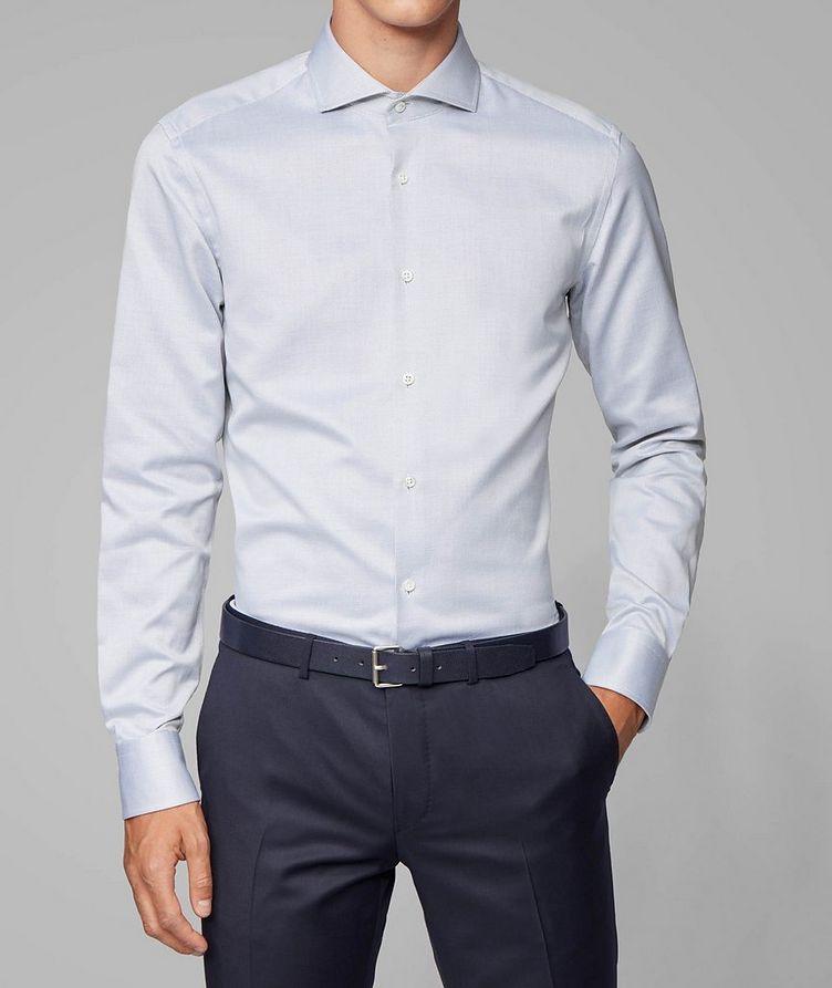 Slim Fit Printed Dress Shirt image 1