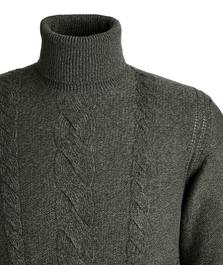 Knit Cashmere Turtleneck image 2