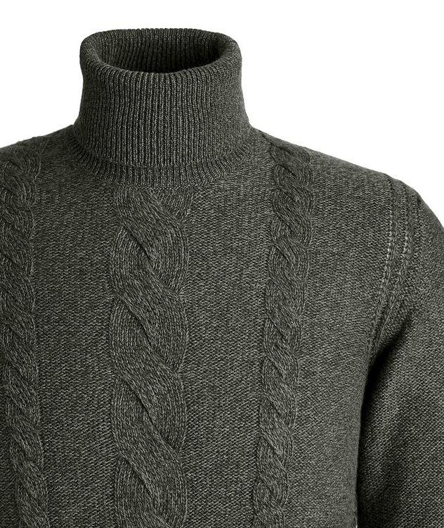 Knit Cashmere Turtleneck picture 3