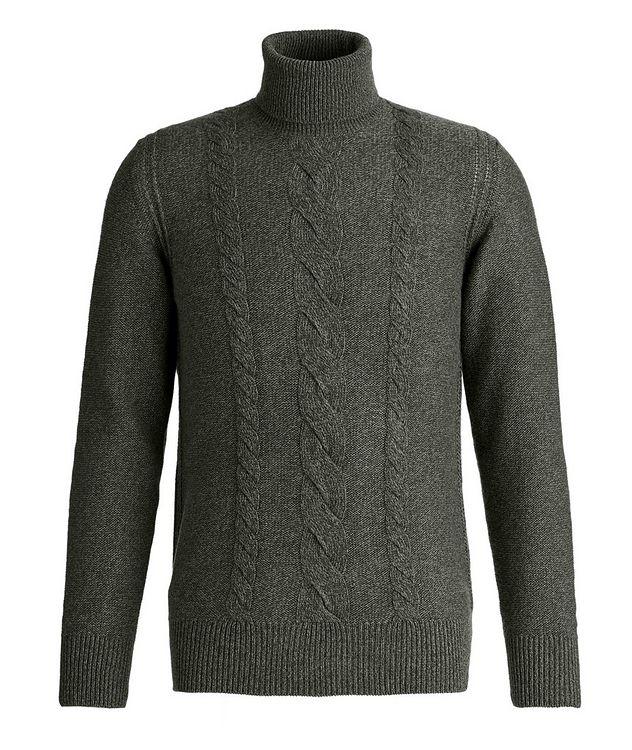 Knit Cashmere Turtleneck picture 1