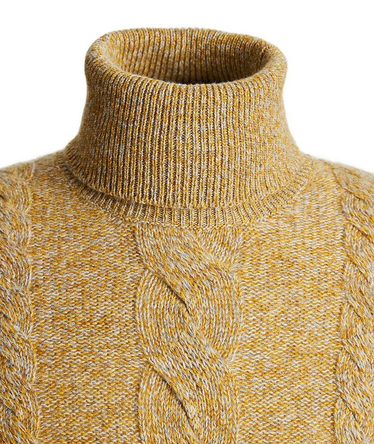 Knit Cashmere Turtleneck image 2