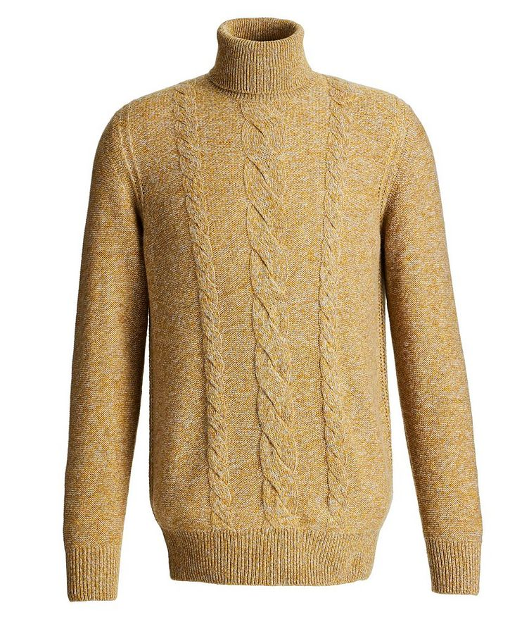 Knit Cashmere Turtleneck image 0