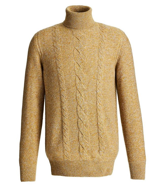 Knit Cashmere Turtleneck picture 1