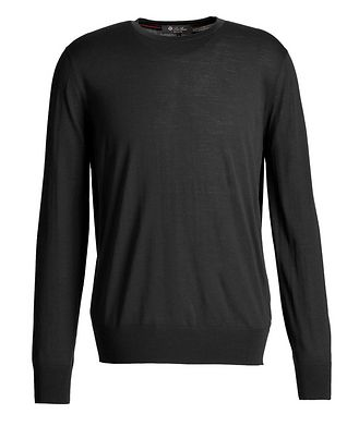 Loro Piana Wool Long-Sleeve T-Shirt