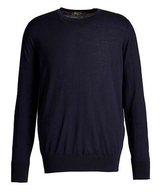 Loro Piana Wool Long-Sleeve T-Shirt