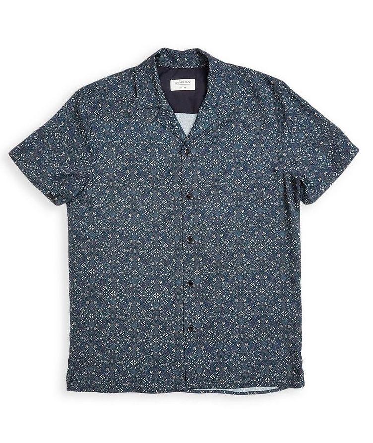 Ramiro Short-Sleeve Botanical-Printed Shirt image 0