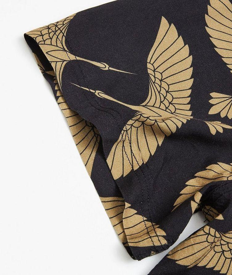 Rami Short-Sleeve Bird-Printed Shirt image 2