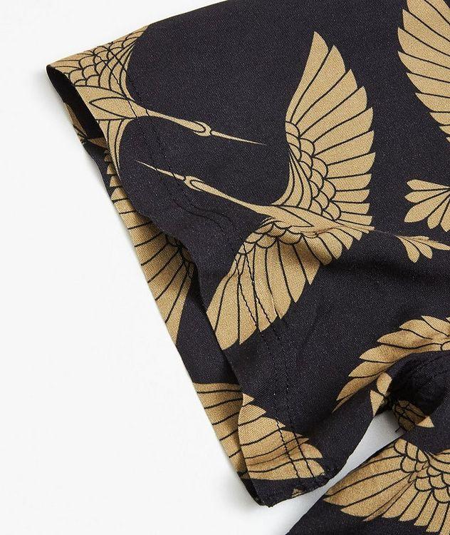Rami Short-Sleeve Bird-Printed Shirt picture 3