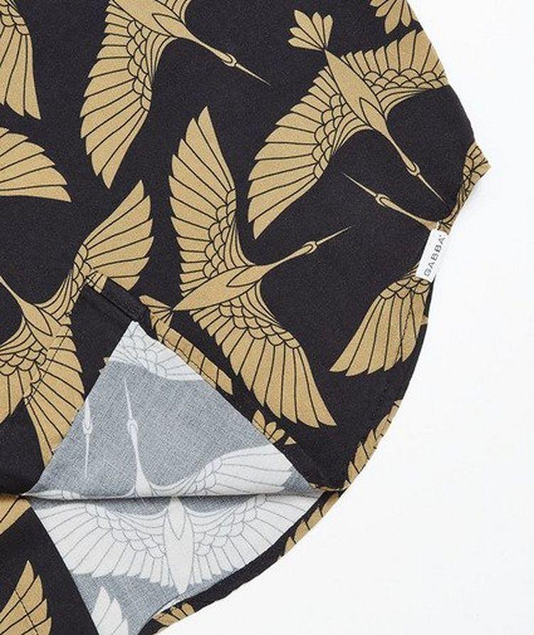 Rami Short-Sleeve Bird-Printed Shirt image 3