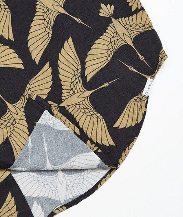 Rami Short-Sleeve Bird-Printed Shirt picture 4