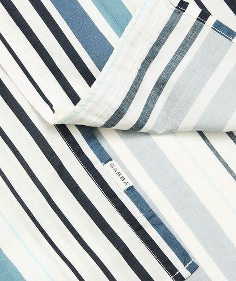 Ramon Short-Sleeve Striped Shirt image 3