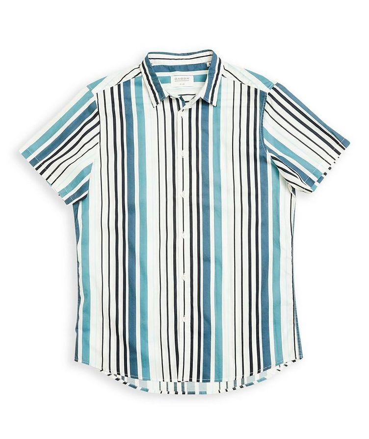 Ramon Short-Sleeve Striped Shirt image 0