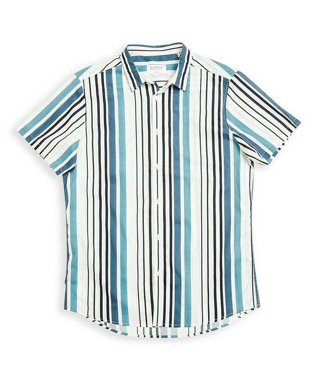 Ramon Short-Sleeve Striped Shirt picture 1