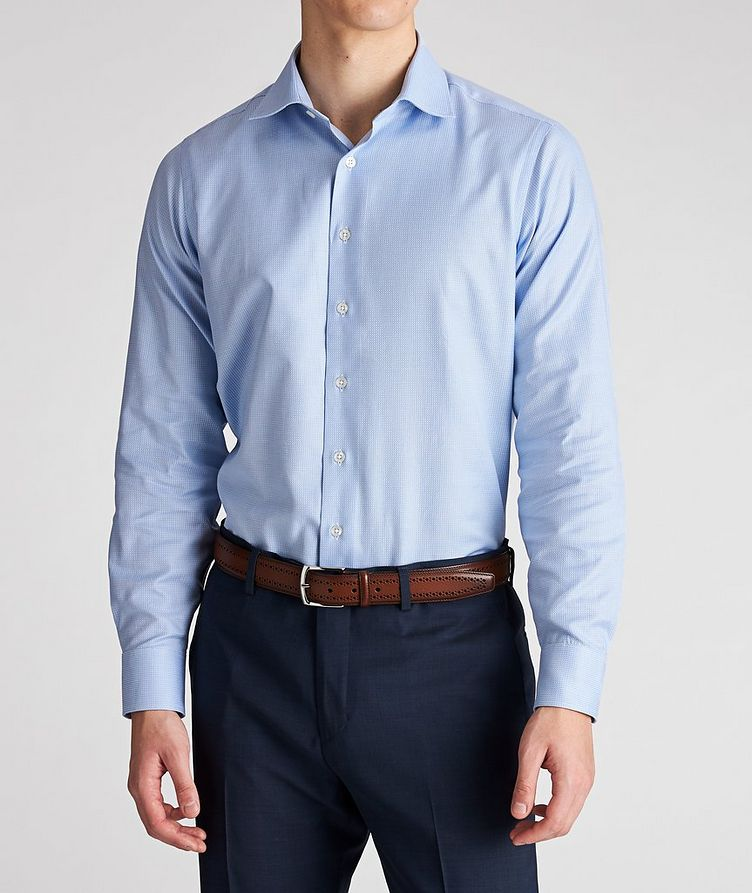 Contemporary Fit Neat-Printed Cotton Dress Shirt image 1