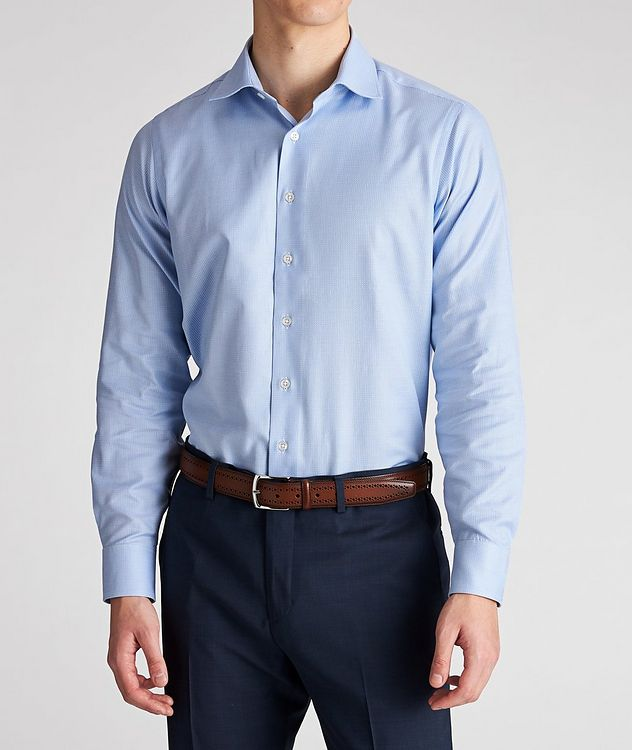 Contemporary Fit Neat-Printed Cotton Dress Shirt picture 2