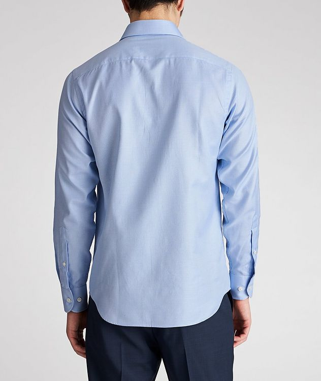 Contemporary Fit Neat-Printed Cotton Dress Shirt picture 3