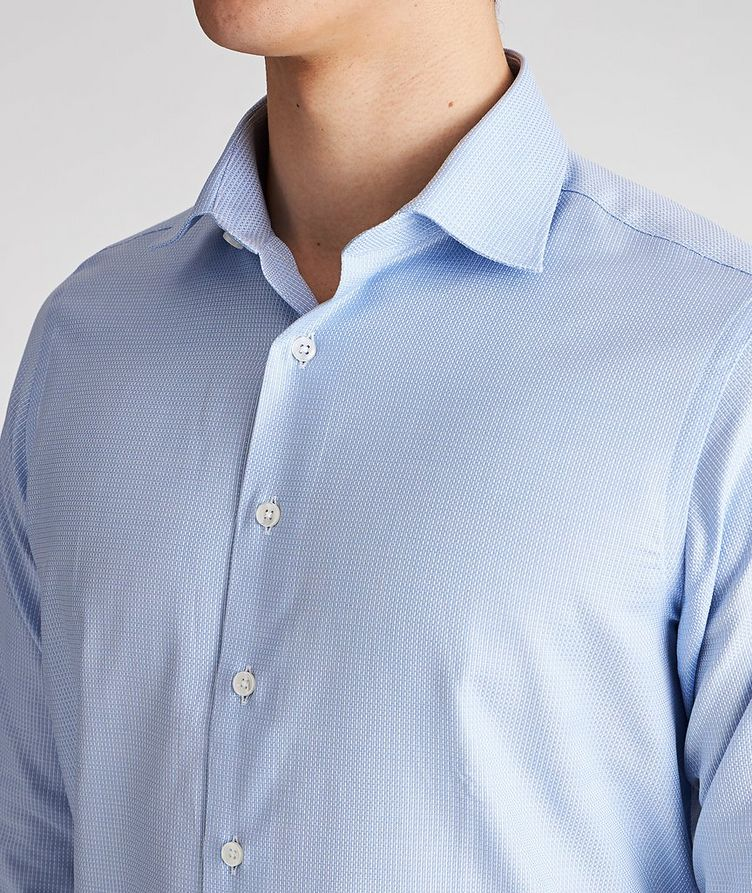 Contemporary Fit Neat-Printed Cotton Dress Shirt image 3