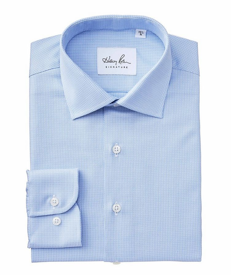 Contemporary Fit Neat-Printed Cotton Dress Shirt image 0