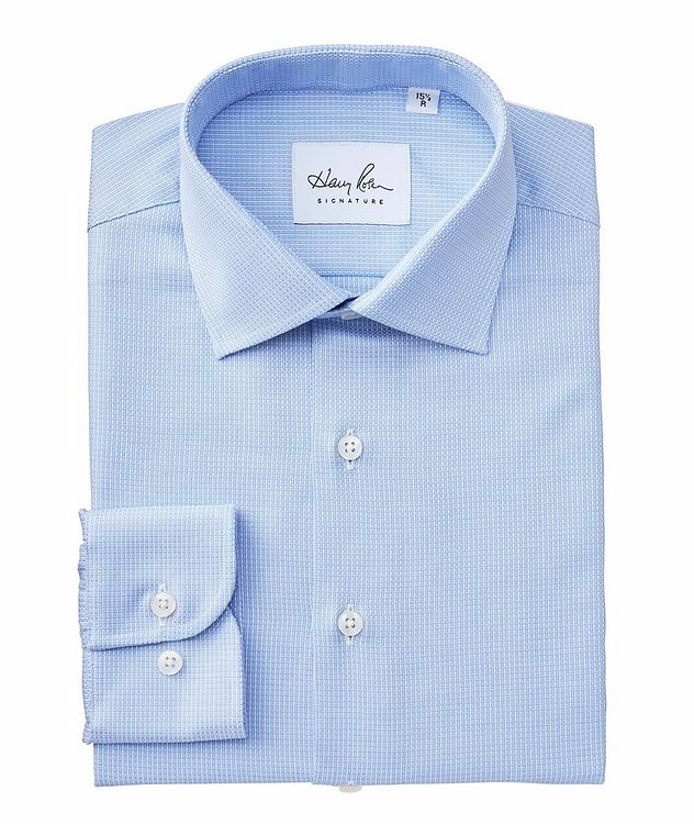 Contemporary Fit Neat-Printed Cotton Dress Shirt picture 1