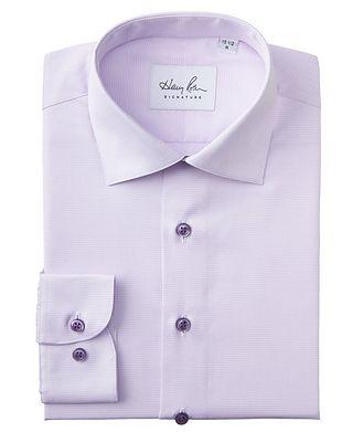 Harry Rosen Signature Contemporary Fit Printed Cotton Dress Shirt