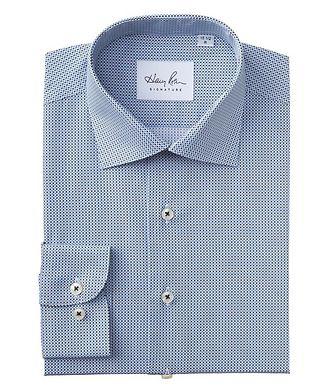 Harry Rosen Signature Contemporary Fit Diamond-Printed Cotton Dress Shirt
