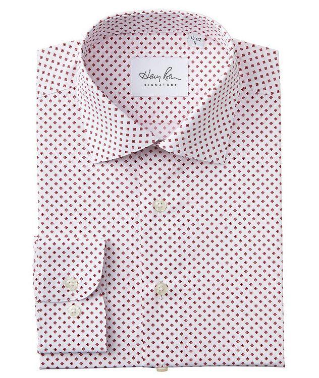 Chemise habillée imprimée en coton picture 1