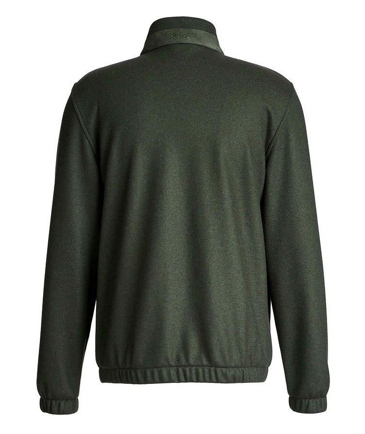 Cashmere Bomber Jacket image 1
