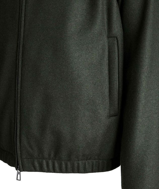 Cashmere Bomber Jacket picture 3