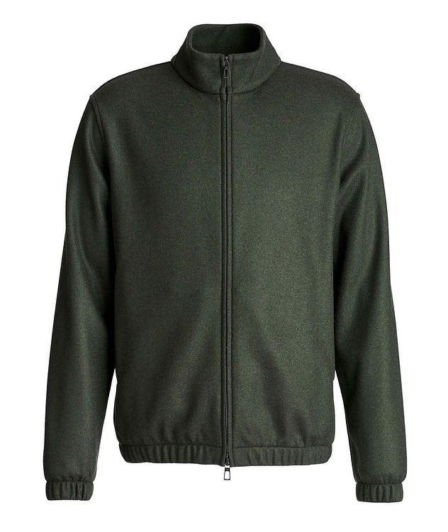 Cashmere Bomber Jacket picture 1