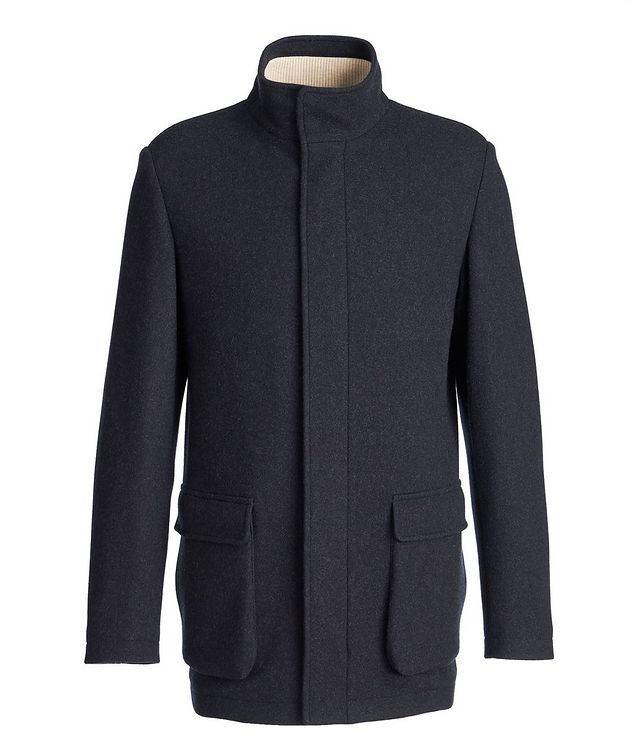Voyager Cashmere-Blend Overcoat picture 1