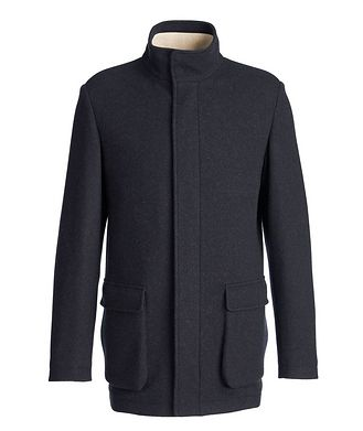 Loro Piana Voyager Cashmere-Blend Overcoat