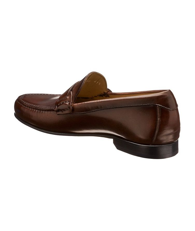 Burnished Penny Loafers  image 1