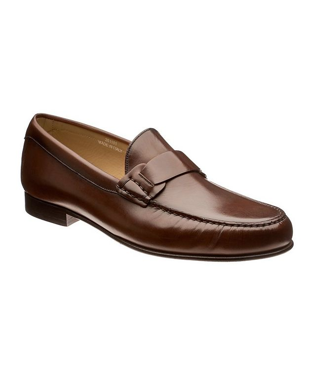 Burnished Penny Loafers  picture 1