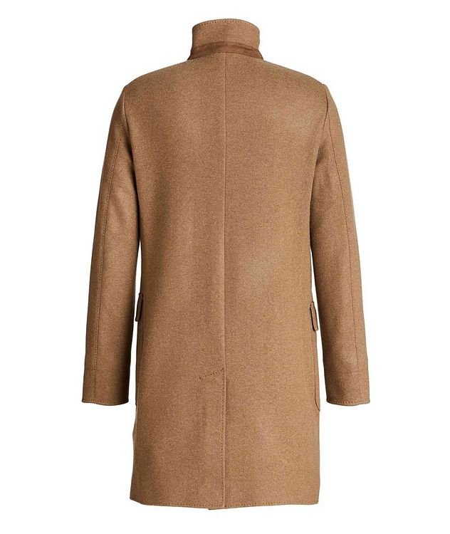 Unstructured Cashmere Overcoat picture 2