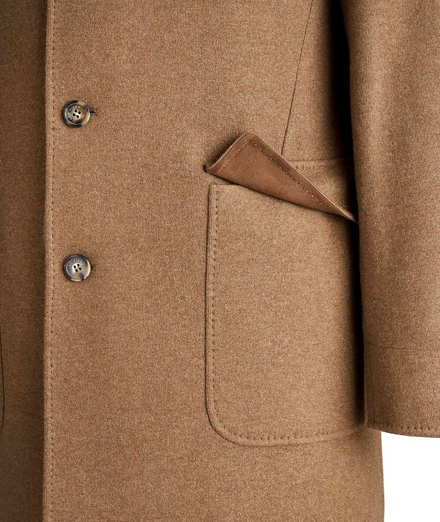 Unstructured Cashmere Overcoat picture 4