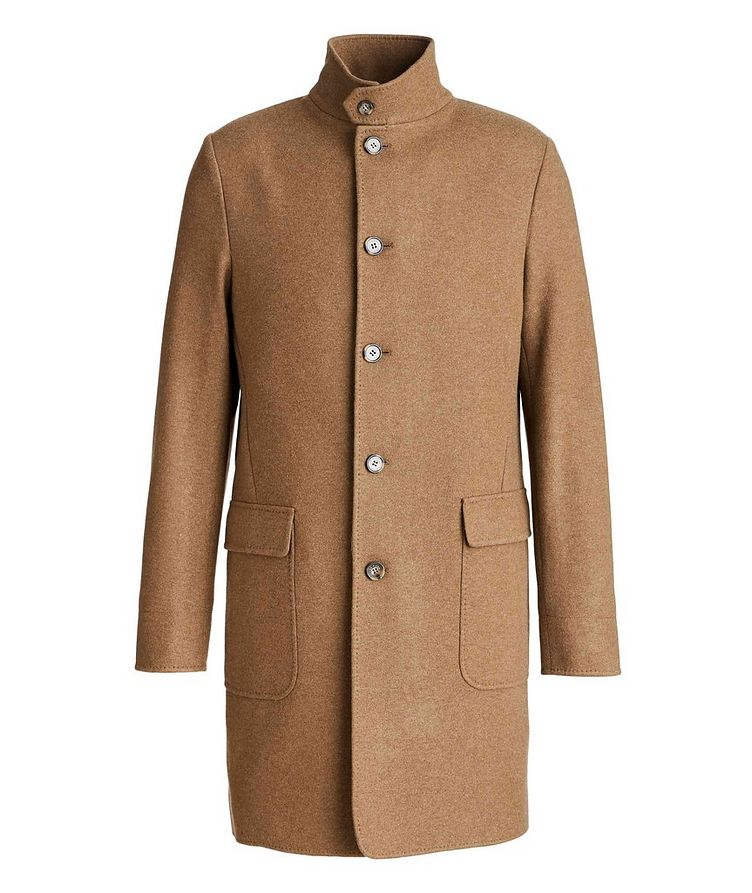 Unstructured Cashmere Overcoat image 0