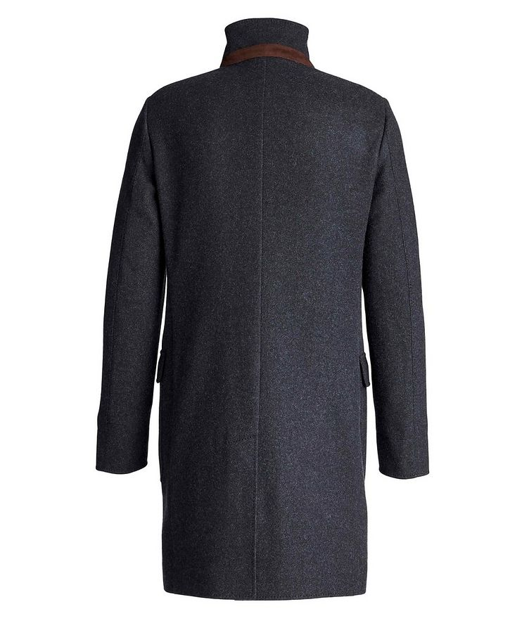 Unstructured Cashmere Overcoat image 1