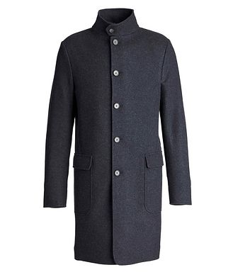 Loro Piana Unstructured Cashmere Overcoat
