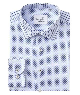Harry Rosen Signature Contemporary Fit Dotted Cotton Dress Shirt