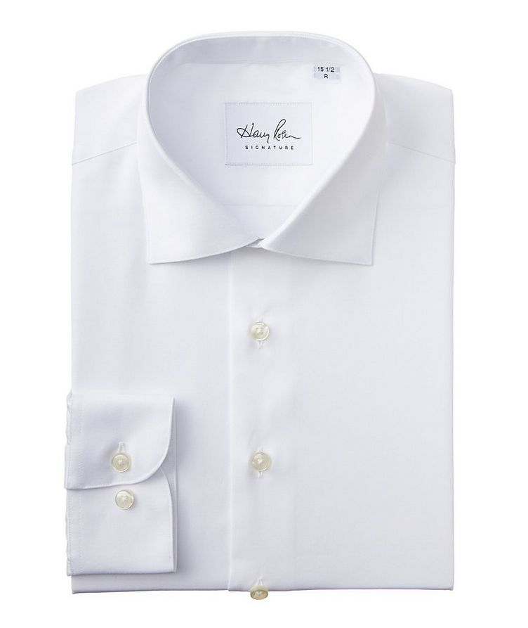 Contemporary Fit Cotton Dress Shirt image 0