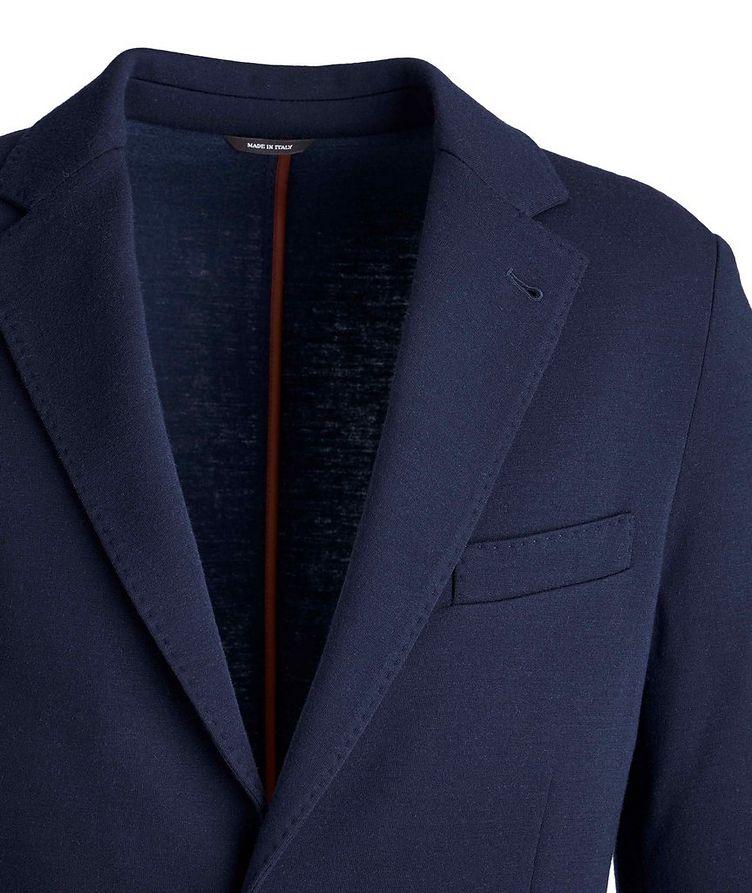 Wool-Blend Sweater Jacket image 1